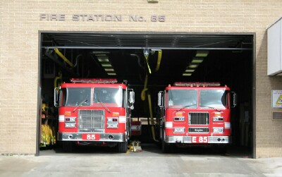 Los Angeles City Fire Department's Fire Station 85